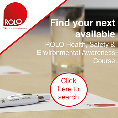 Find your next ROLO Health, Safety and Environmental Awareness Course